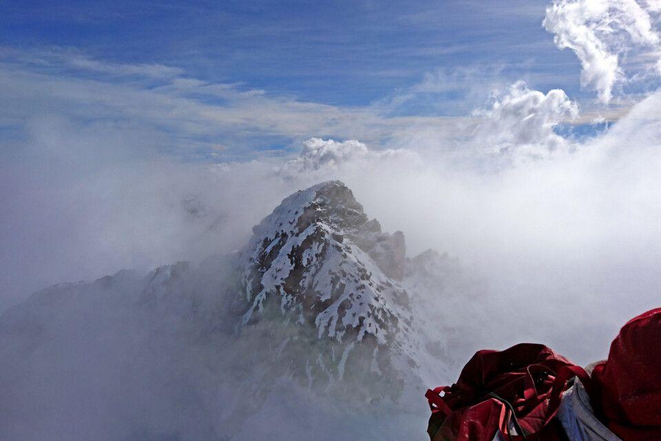 Der zweithöchste Gipfel des Mount Stanley (Alexandra Peak – 5091 m)