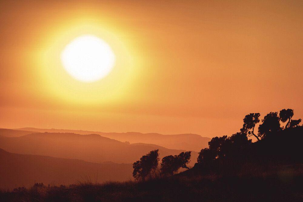 Abendstimmung in den Simien Mountains