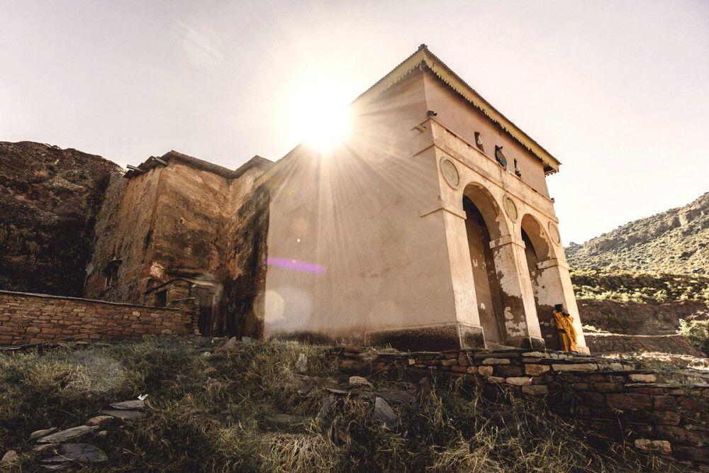 Die Kirche Abreha Atsbeha in der Tigray Region
