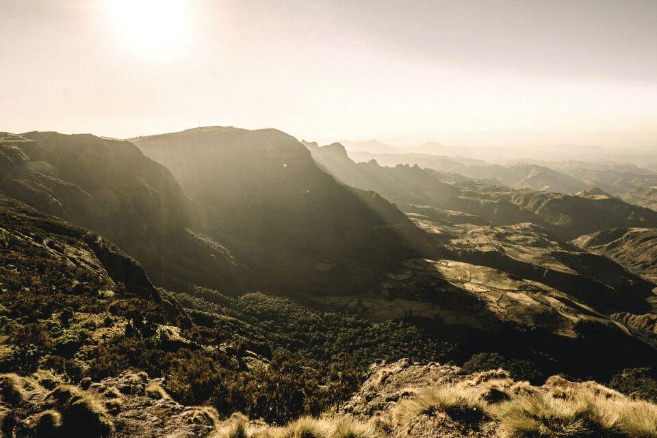 Großartige Ausblicke auf die Simien Mountains