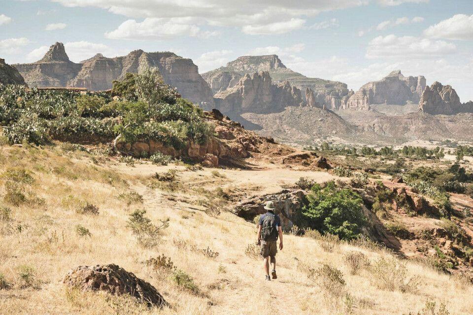 Trekking in der Gheralta-Bergregion