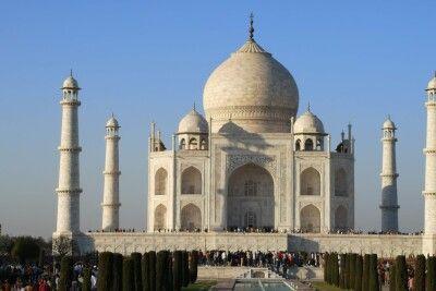 Rajasthan Reise - Taj Mahal Agra