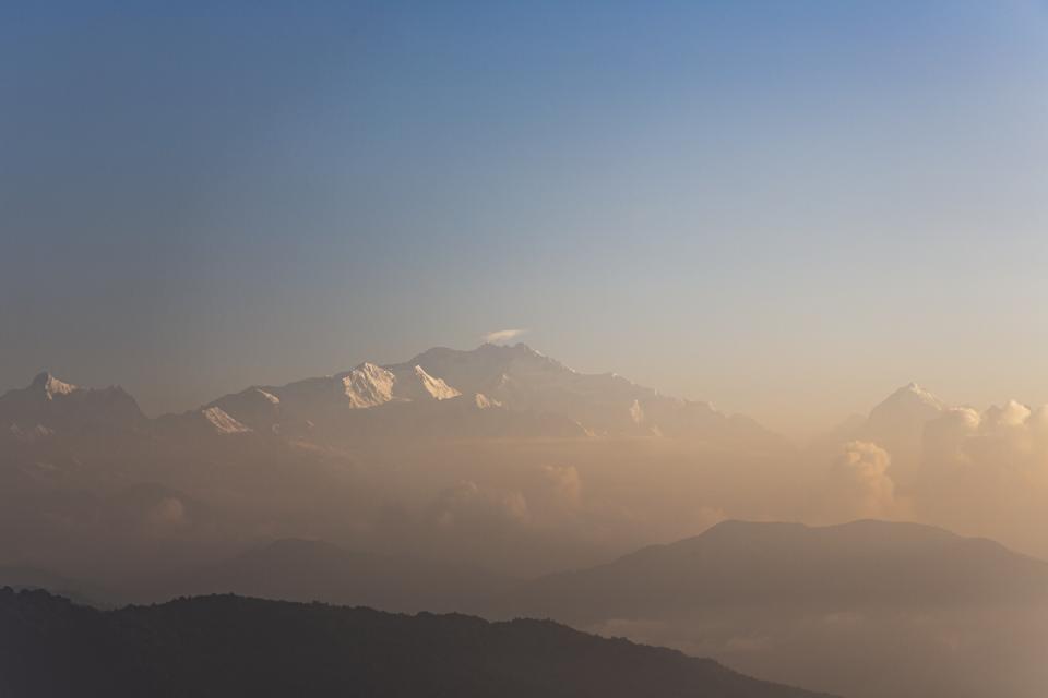 Bergpanorama Nepal und Indien