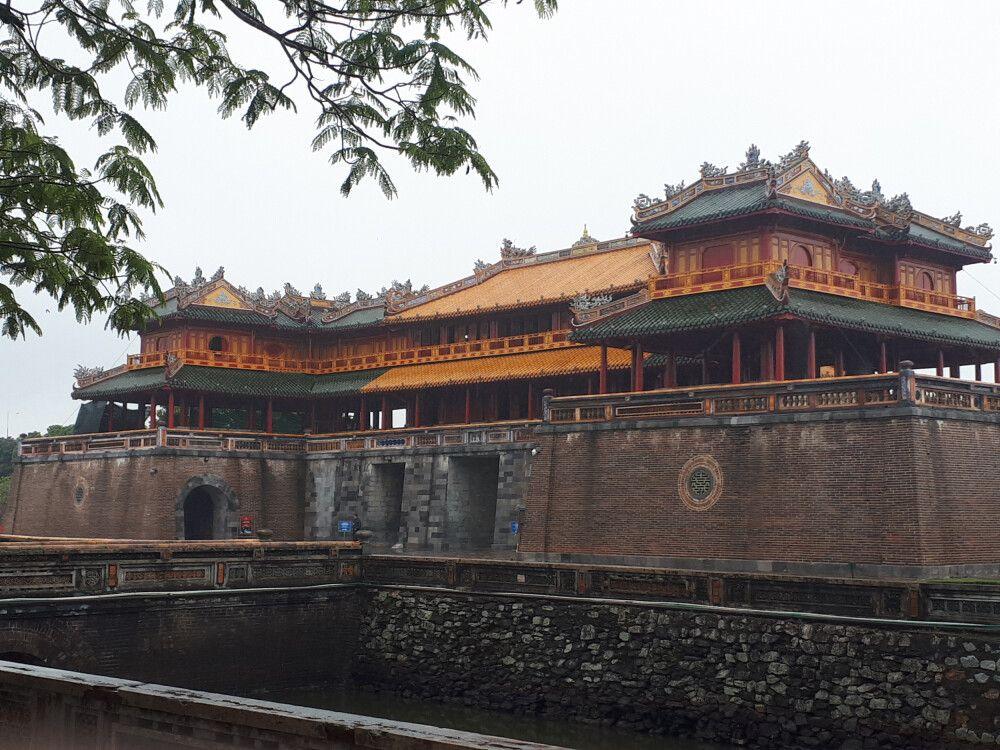 Haupteingang des Kaiserpalastes in Hue
