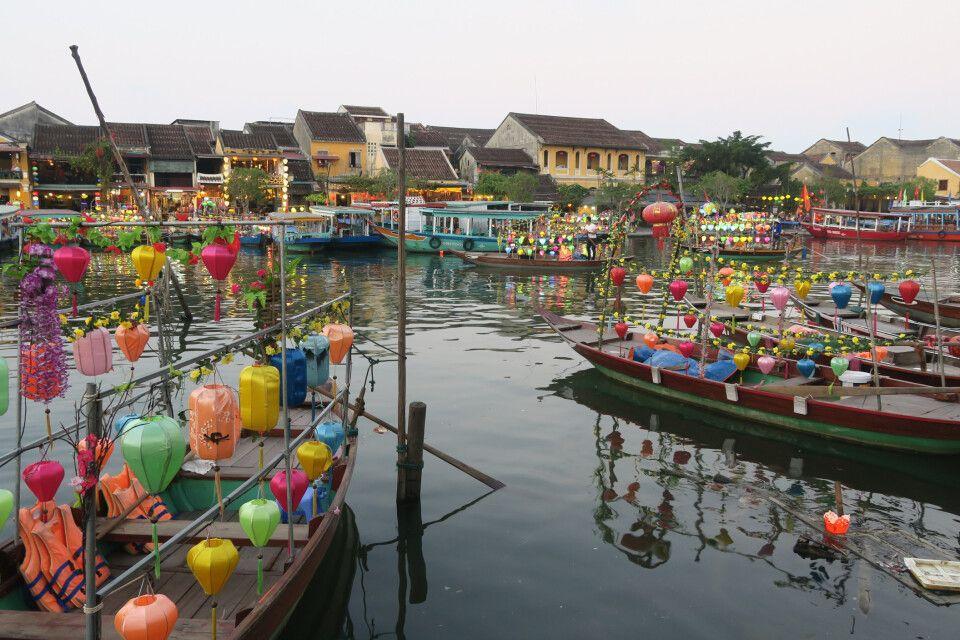 Hoi An - Vietnams schönste Kleinstadt im Zentrum des Landes