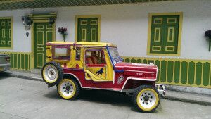 Willy-Jeep in Salento