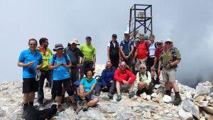 Trekking in Bulgarien: Pirin-Gebirge und Rila-Gebirge, Gipfelfoto