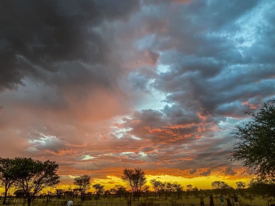 Himmel über Namibia