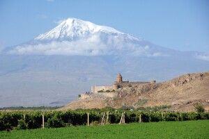 Kloster Chor Virap und Ararat