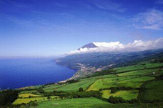 Landschaft auf Pico, Azoren