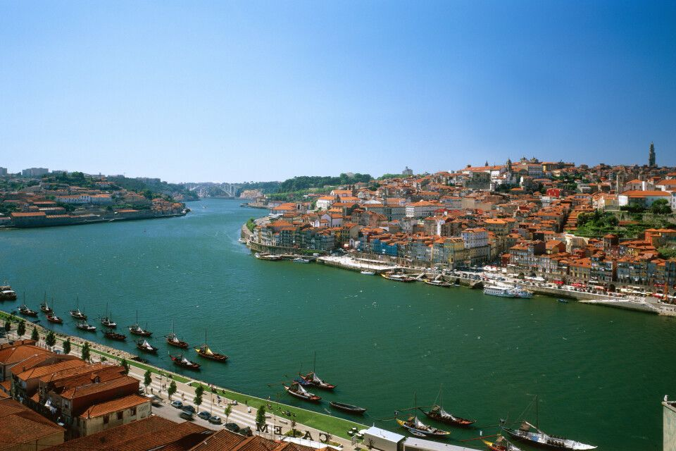Stadtpanorama Porto