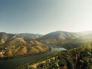 Blick über das Douro-Tal, Nordportugal