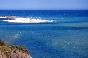 Strand bei Tavira, östliche Algarve