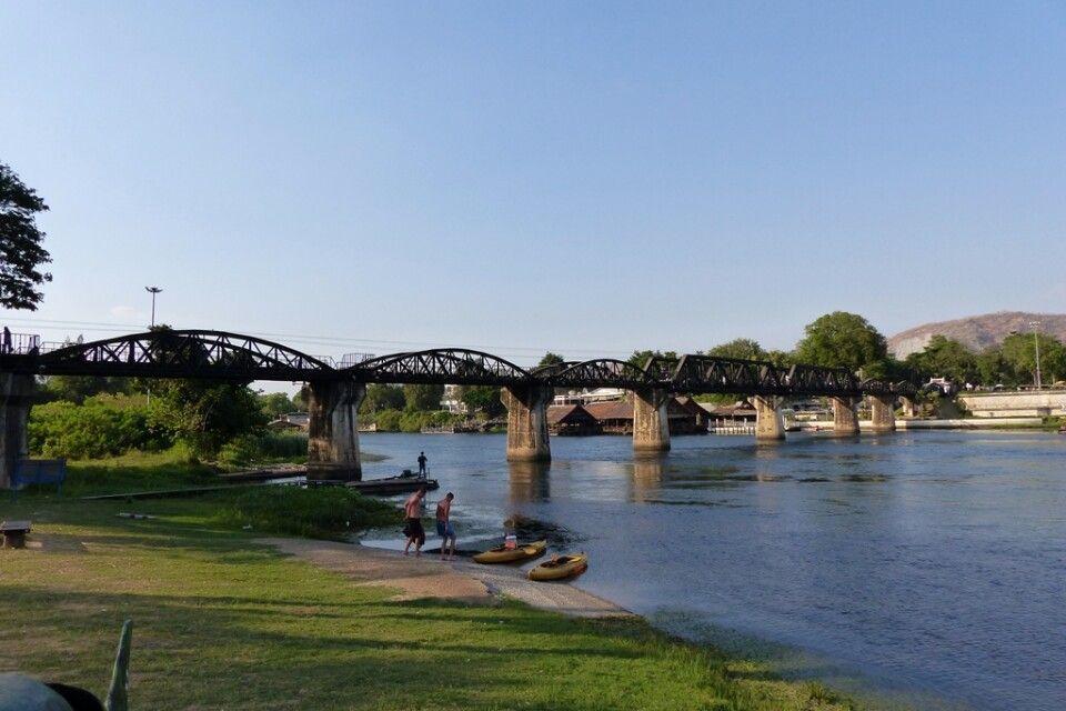 Brücke über der Kwai
