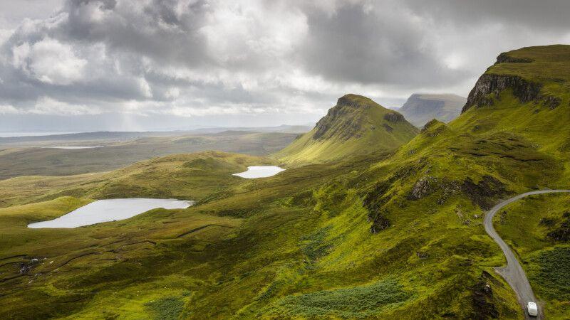 The Quiraing, Isle of Skye © Diamir