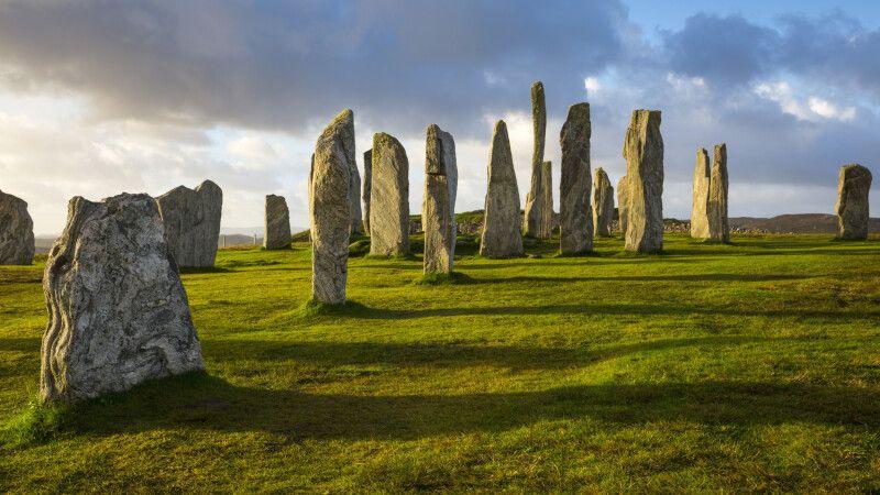 Steinkreis von Callanish auf der Isle of Lewis, Äußere Hebriden © Diamir