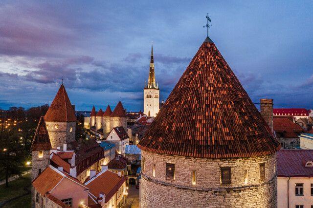 Abendstimmung in Tallinn