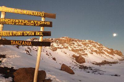 Kilimanjaro, Stella Point (5756 m)