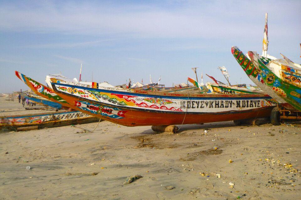 Im Hafen von Nouakchott