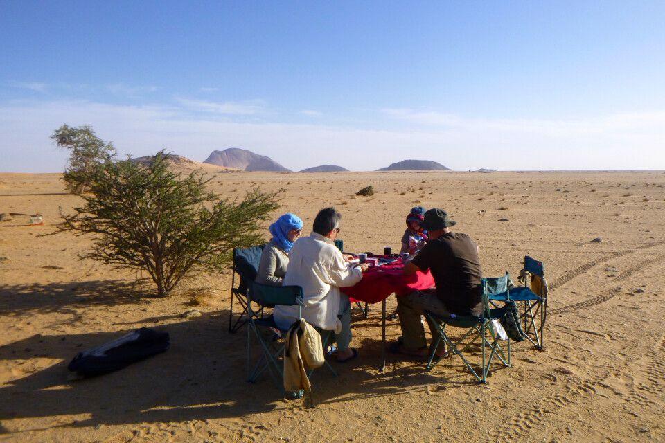 Mittag im der Wüste