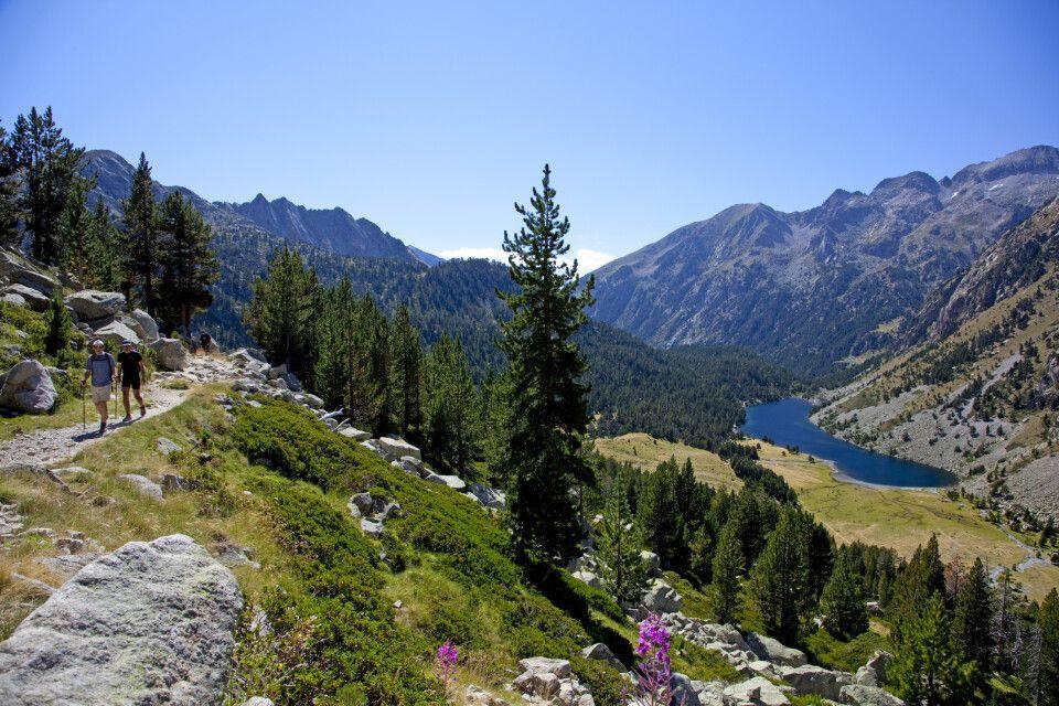 Auf dem Gran Bucle-Trail in den Pyrenäen