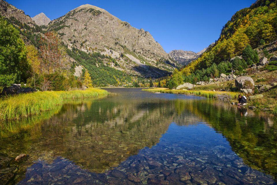 Llebreta-See im Aigüestortes-Nationalpark, Pyrenäen
