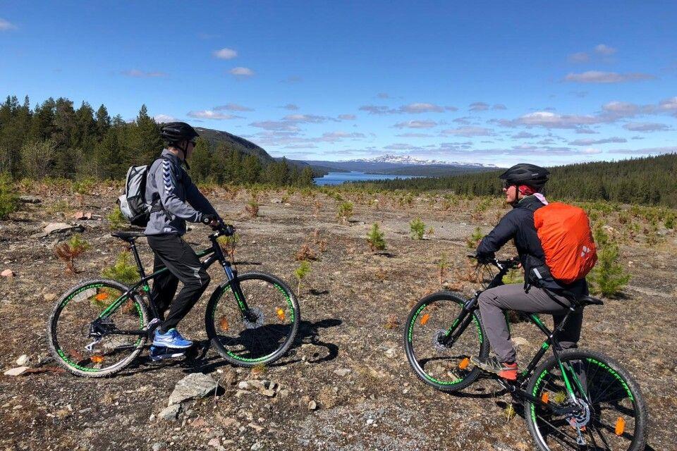 Unterwegs mit den Mountainbikes