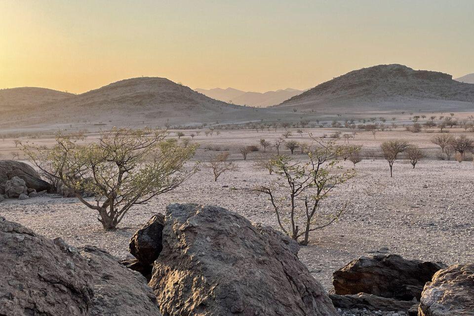 Dafür ist Namibia bekannt – unendliche Weiten
