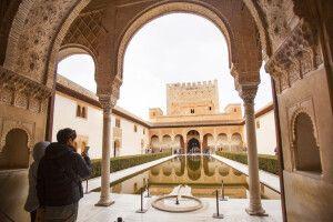 Myrtenhof in der Alhambra, Granada