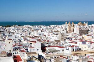 Panorama von Cádiz