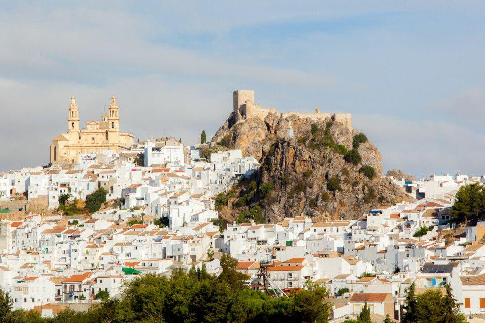 Panorama von Olvera
