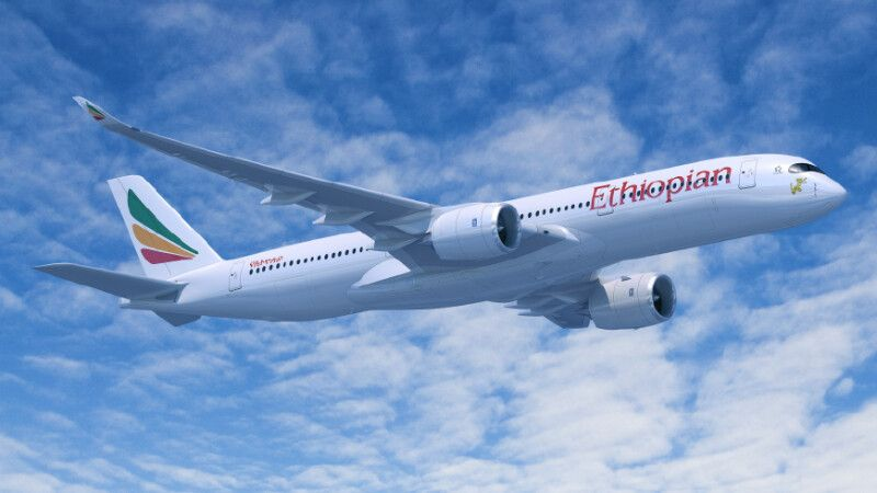 A350 von Ethiopian Airlines © Diamir