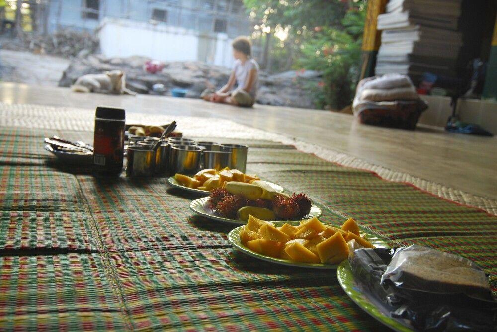 Essen im Homestay