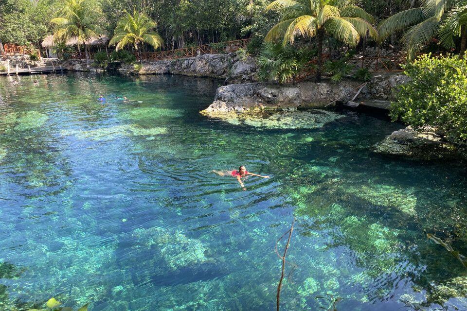 Cenoten in Mexiko faszinieren mit azurblauem Wasser und ihrem geheimnisvollen Flair