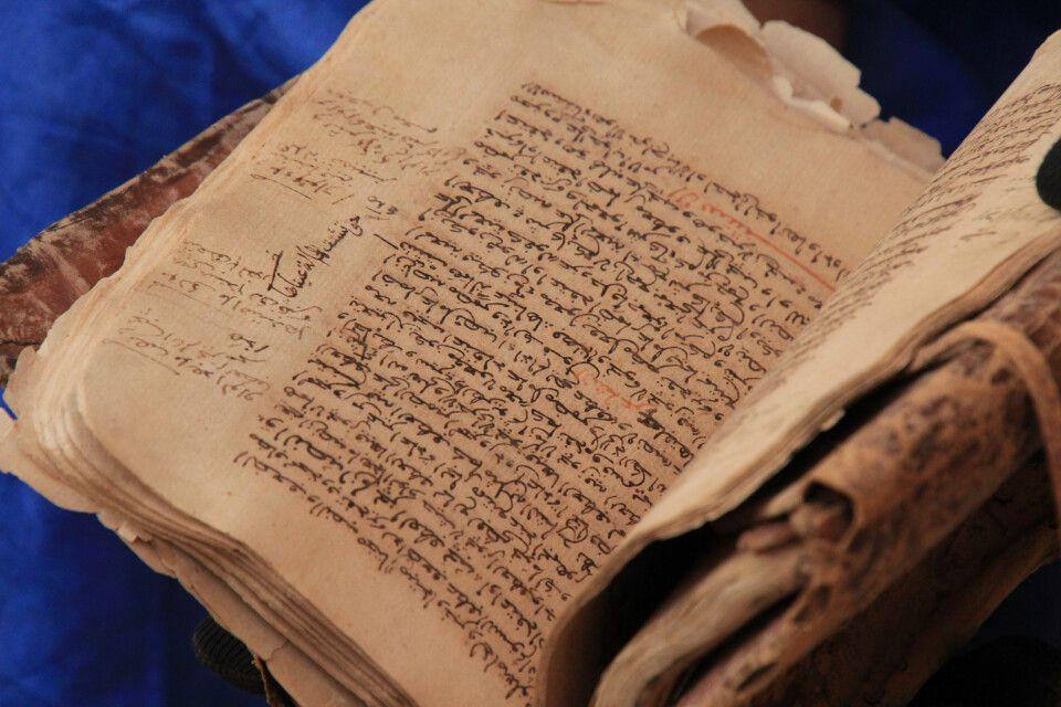 Uralte Schriften werden in Cinguetti gehütet