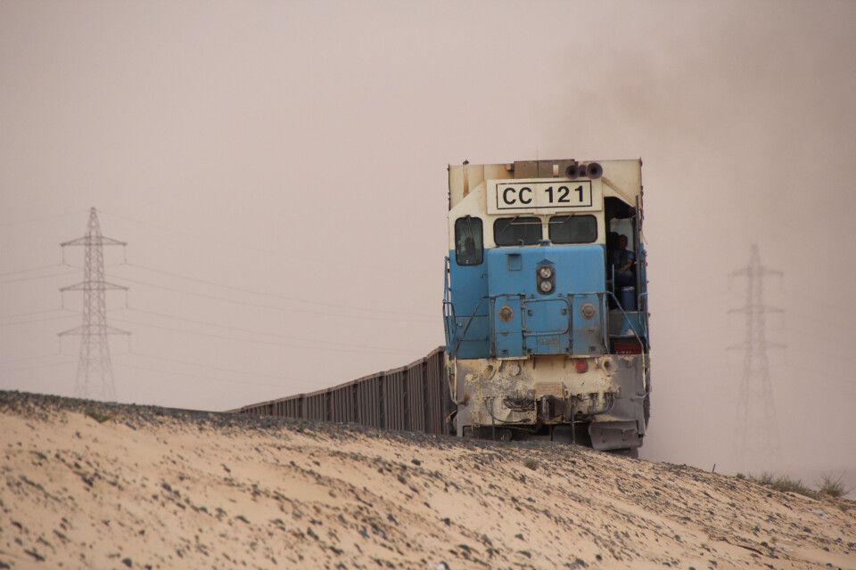Erzzug bei Nouadhibou