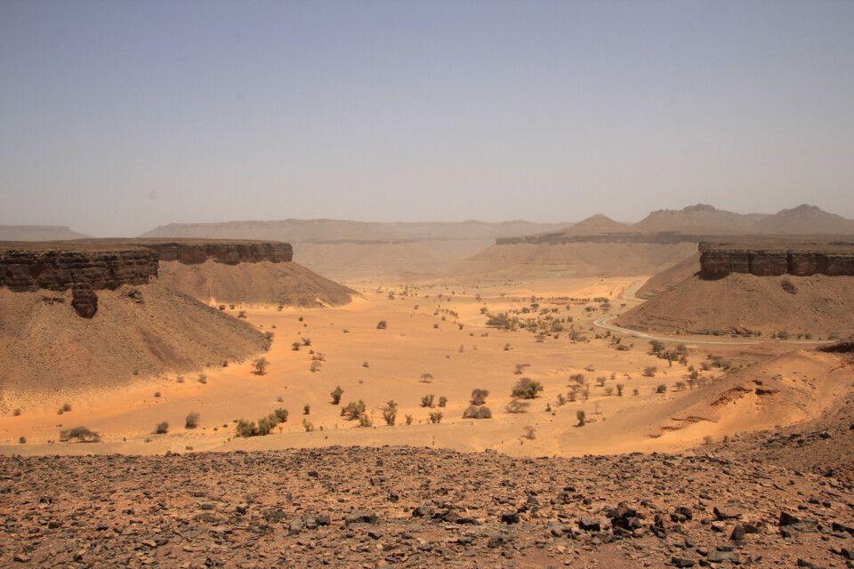 Mauretaniens Version des Grand Canyons