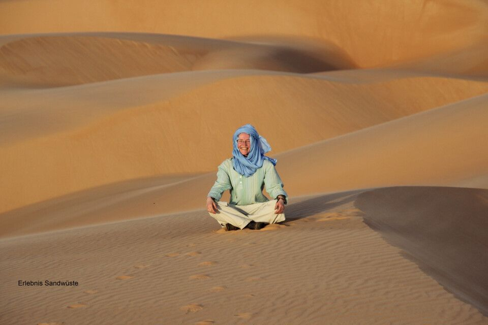 Erlebnis Sandwüste