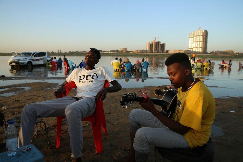 Tuti-Insel in Khartum