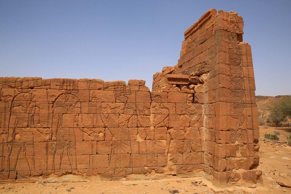 Apedemaktempel in Naqa