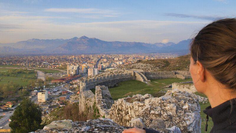 Blick auf Shkodra © Diamir