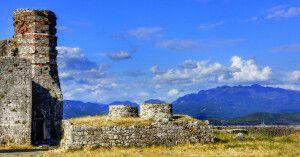 Burgruine in Albanien