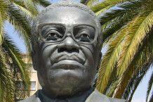 Statue von Agostinho Neto in Windhoek, Namibia
