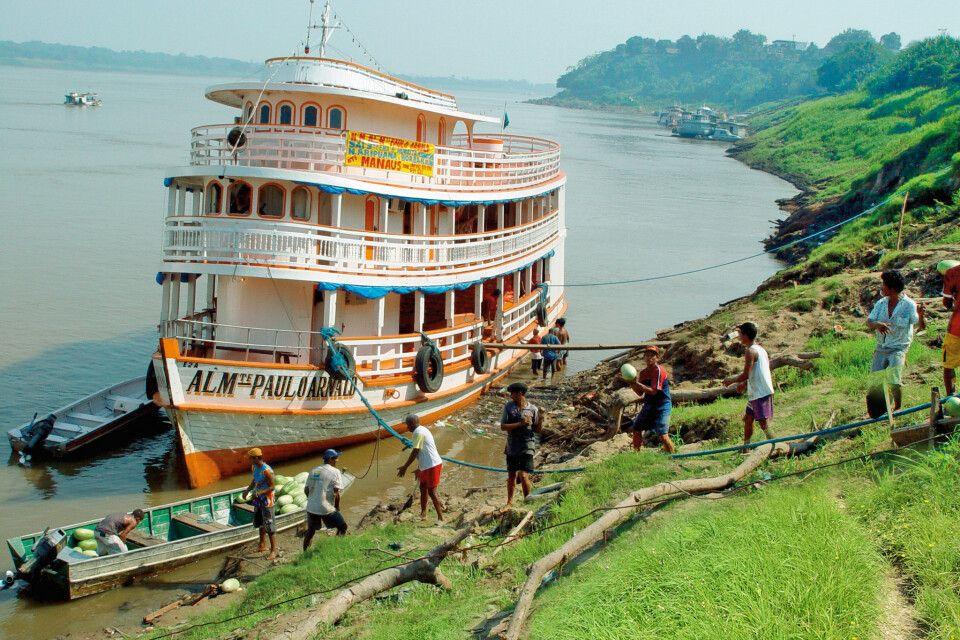 Boot auf dem Amazonas