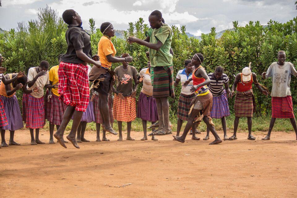 Die Karamojong, Volksgruppe in Norduganda