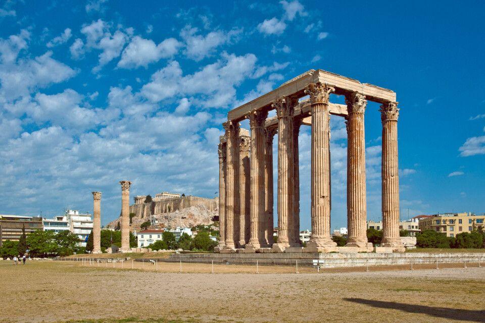 Zeustempel  (Olympieion), Athen