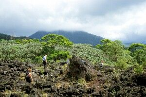 Auf dem Weg zum Vulkan Arenal