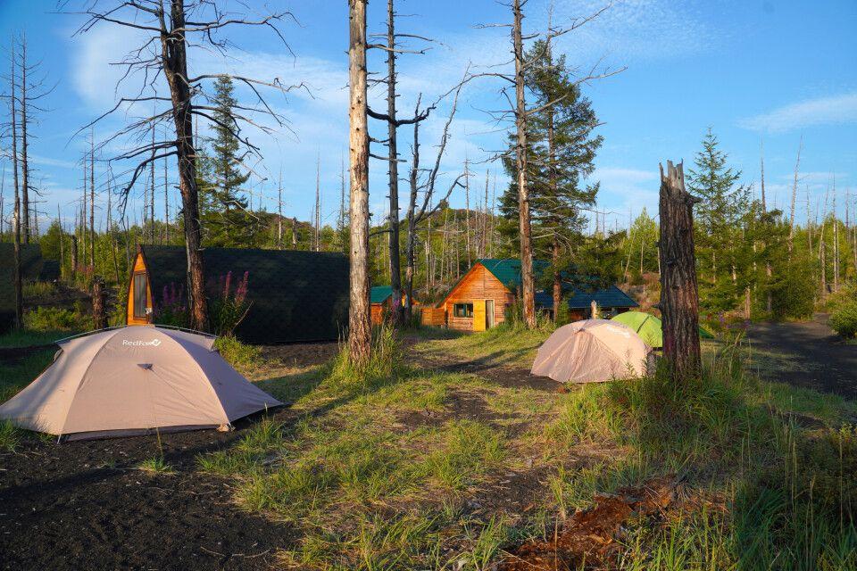 Lager im Toten Wald
