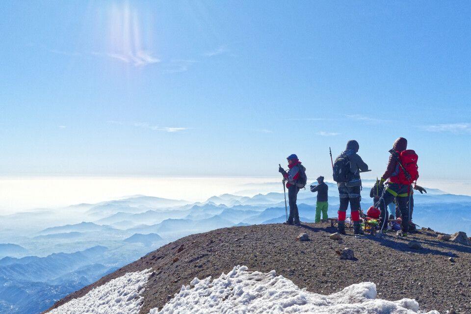 Höhepunkt – der 5640m hohe Gipfel des Pico de Orizaba
