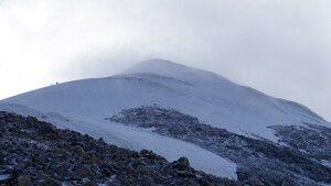 Der Gipfel des Ararat ist bereits zum Greifen nah